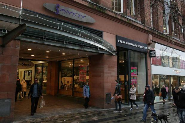 Savoy Centre traders learned their landlord had gone bust on January 15, but January 24 brought better news