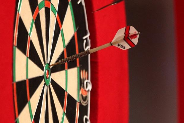 It's bullseye for our winner who gets a pair of tickets to see the darts at the Hydro