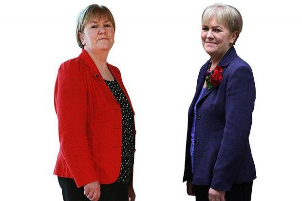Johann Lamont, before and after