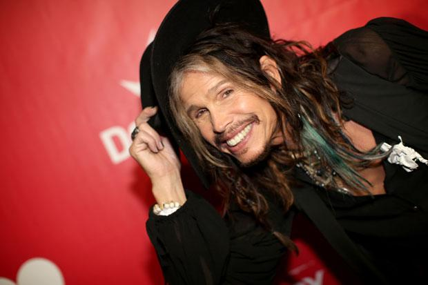 Steve Tyler, lead singer of Aerosmith.