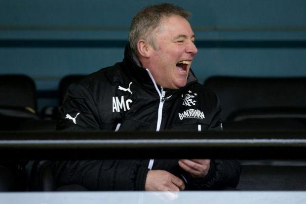 Ally McCoist's men are in cup action on Sunday