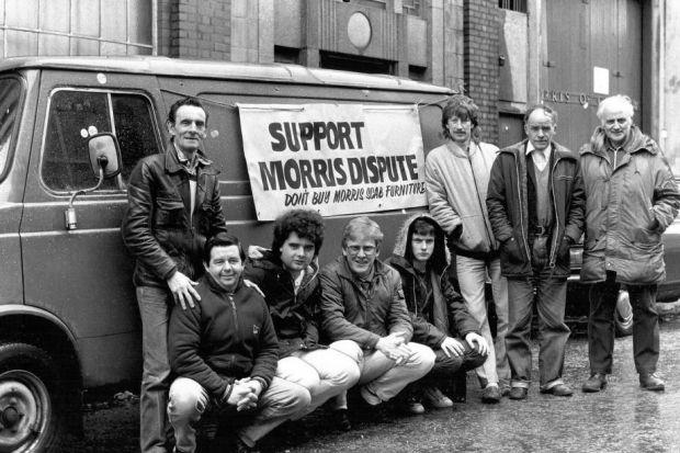 The Morris Furniture strike made headline news 30 years ago
