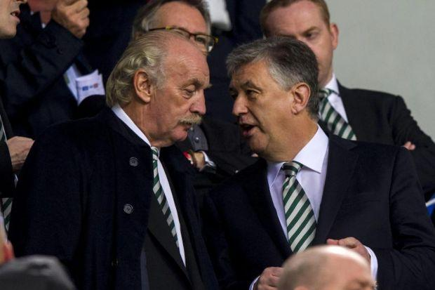 Dermot Desmond said in a rare interview that Celtic's Peter Lawwell was as good as any chief executive in the world