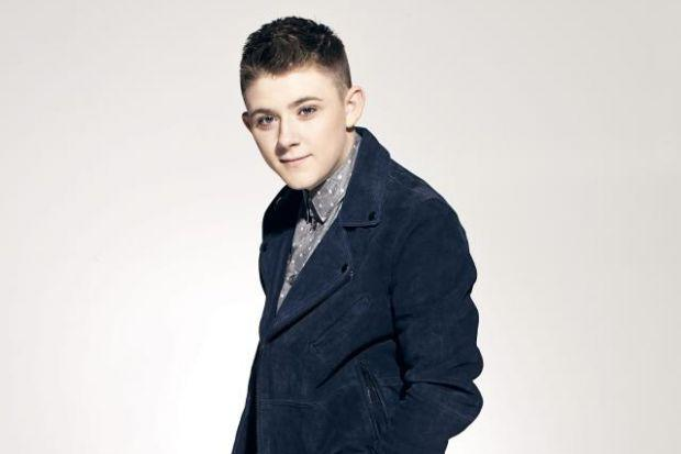 x Factor's Nicholas says his family will ensure he keeps his feet on the ground