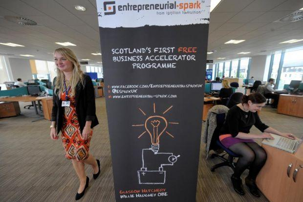 A number of new firms are based at the ESpark headquarters in the Gorbals and have proved very successful