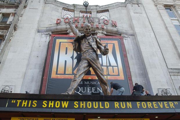 No more rocking for Queen musical