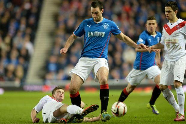 Lee Wallace was excellent for Rangers in 3-0 win over Airdrie