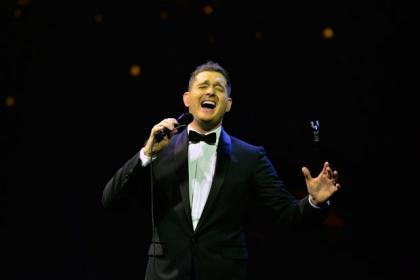 Cat's Eyes on Glasgow: one night with Michael Buble and I am pratically setting up my own fan club