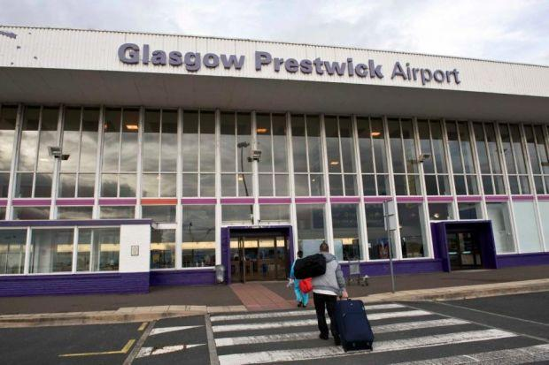 Nicola Sturgeon has pledged that Prestiwck Airport will not get preferential treatment