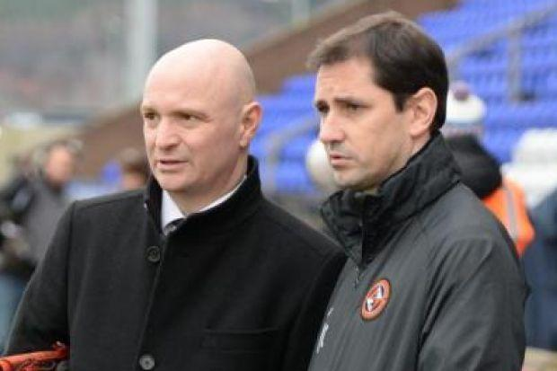 Dundee United chairman Stephen Thompson and boss Jackie McNamara have criticised SFA over Ibrox cup semi-final tie