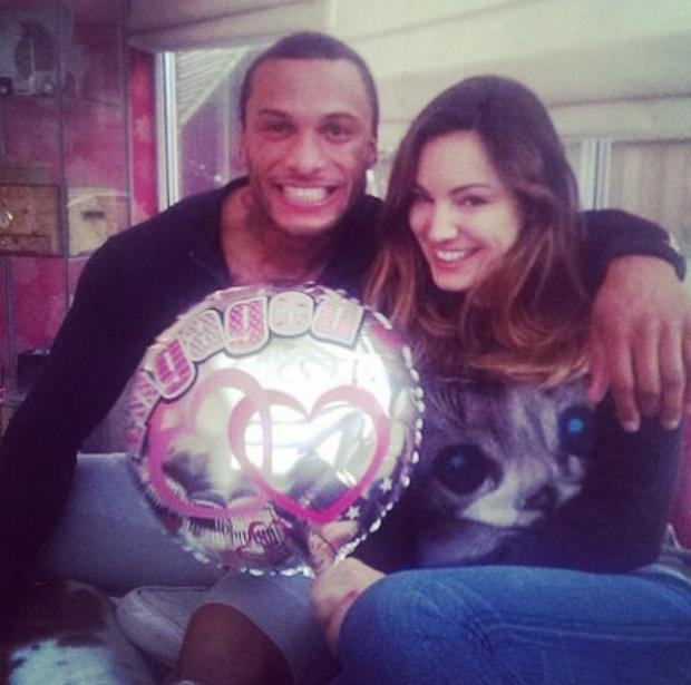Is Kelly Brook engaged?