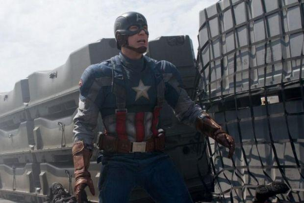 Chris Evans has grown in stature and confidence as Captain America