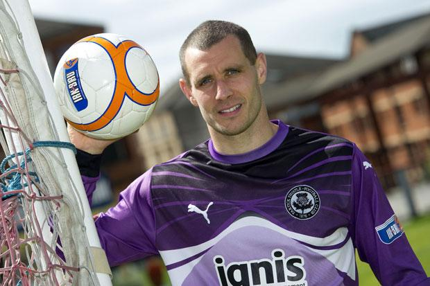 Bryn Halliwell is pictured during his time at Partick Thistle.