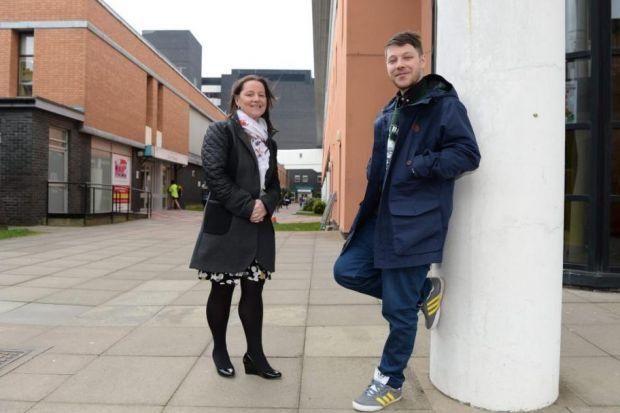 Hector Bizerk's Louie Lowis with his mum Sandra Lowis, a nurse    at Yorkhill Hospital. Picture: Nick Ponty