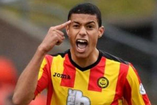 Lyle Taylor could face ex-club Falkirk if Partick Thistle are sucked into a relegation play-off