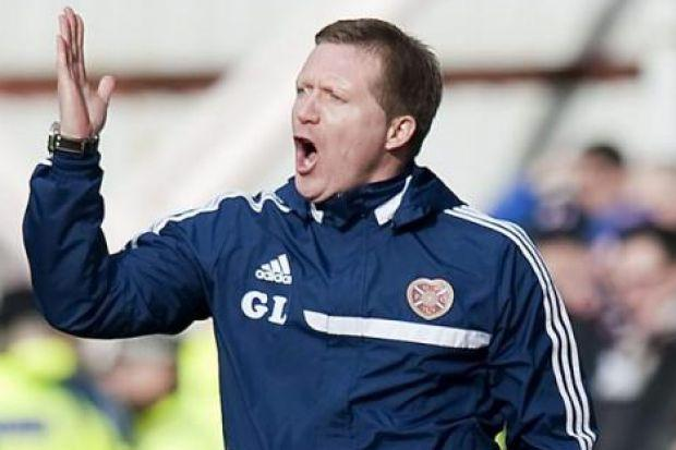 Gary Locke's Hearts side face Partick Thistle at Firhill on Saturday