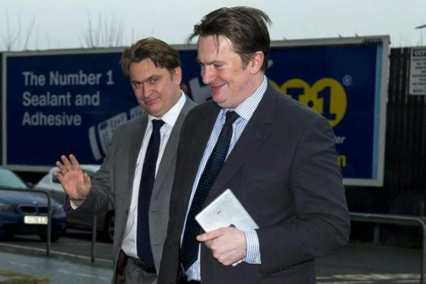 Sandy Easdale (right) says he and brother James are completely focused on Rangers