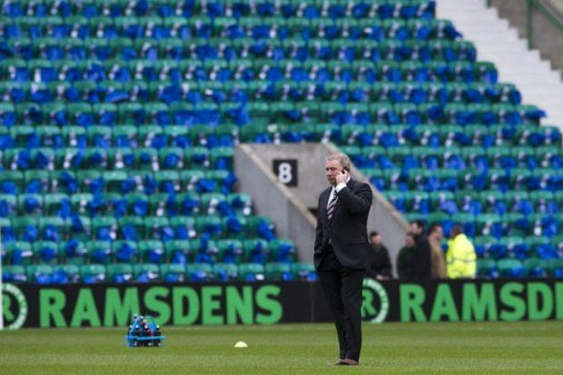The Rangers manager was left with nowhere to hide after latest defeat