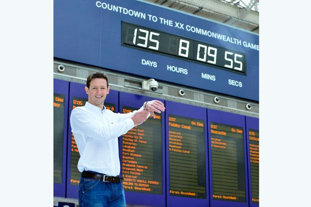 Michael Jamieson counting down to the Games