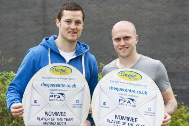 Jon Daly and Nicky Law are in the running for League One Player of the Year along with team-mate Lee Wallace and Ayr United's Michael Moffat