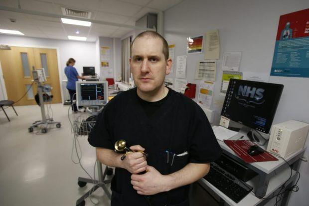 Glasgow Royal Infirmary medic Dr Richard Stevenson see patients who have suffered the devastating effects of 'legal highs'