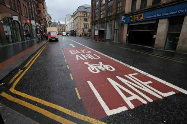 The bus lanes review follows criticism by angry motorists