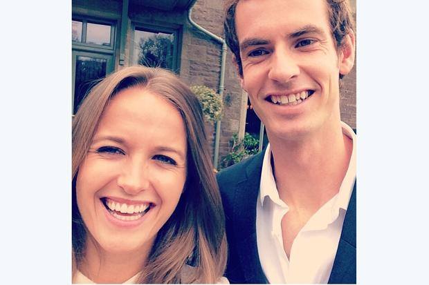 In pictures: Emotional Andy Murray is all smiles with girlfriend Kim Sears as receives the freedom of Stirling