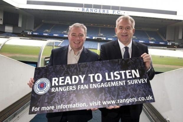 Graham Wallace said there will be job losses at Ibrox