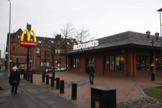'CS gas' attack at Glasgow McDonald's restaurant