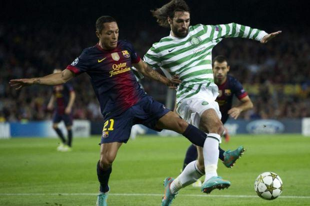 Georgios Samaras had many highs during his six years at Celtic - such as Champions League success against Barcelona in 2012