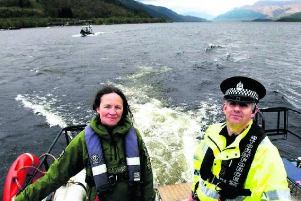 Police are to crack down on drink-fuelled thugs at Loch Lomond