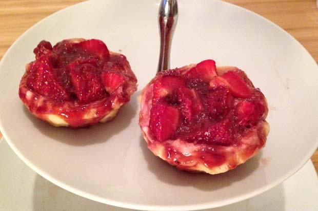 Glasgow's Forgotten Recipes: Strawberry tartlets
