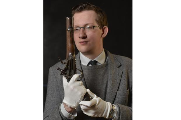 The Spanish pistol has been donated to South Lanarkshire museums