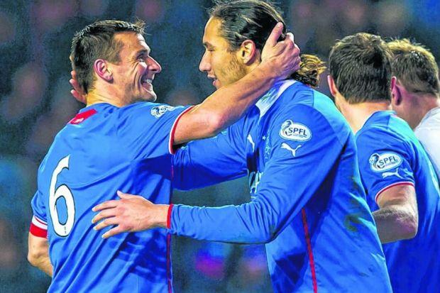 Lee McCulloch has led from the back alongside Bilel Mohsni