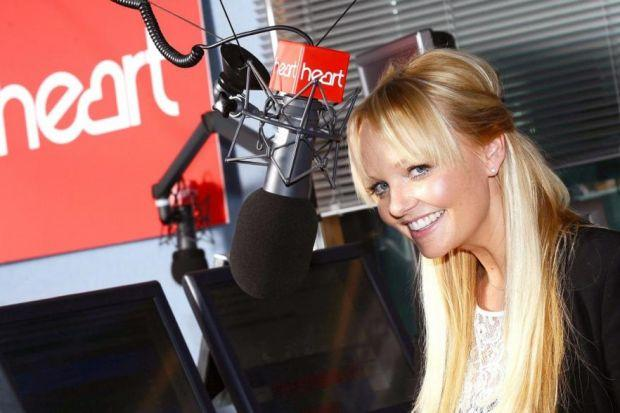 Emma Bunton is enjoying her new-found status as a radio star