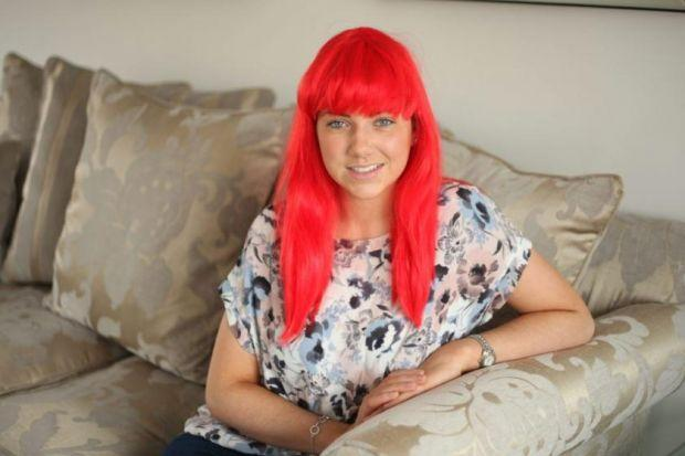 Nicole Walker wants people to wear wigs for cancer charity