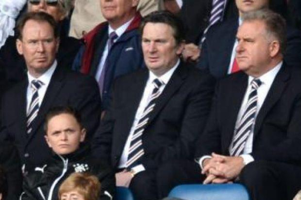 Norman Crighton, Sandy Easdale and Graham Wallace met with Union of Fans representatives