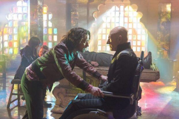 Charles Xavier meet Charles Xavier... James McAvoy and Patrick Stewart come face to face as the young Professor X journeys meets his older self