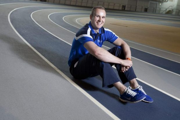 Scott Forrest competed at the last Games where he captained the Rugby sevens team but now works for SportScotland Institute of Sport Picture: Mark Gibson