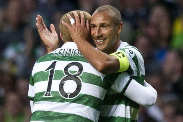 Friends reunited...Neil Lesson believes Henrik Larsson has the right qualities to be Celtic manager