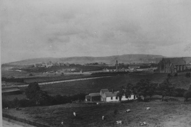Last of Hyndland's rural heydays