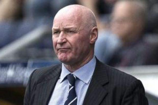 John Brown handed over petition calling for guarantees over the future of Ibrox Stadium