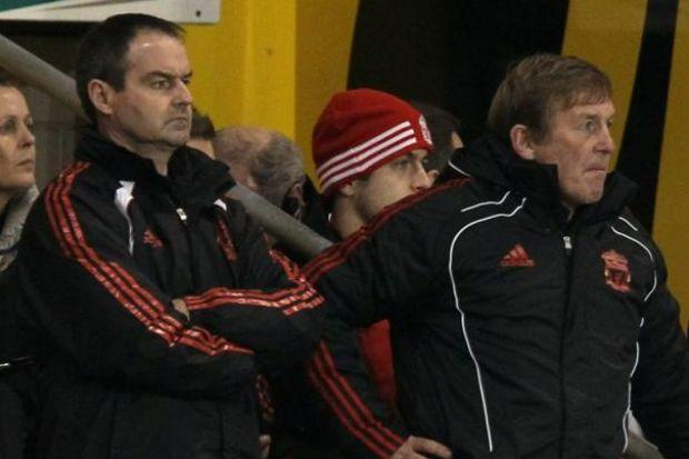 Steve Clarke (left) worked as assistant manager to former Celtic director of football Kenny Dalglish at Liverpool