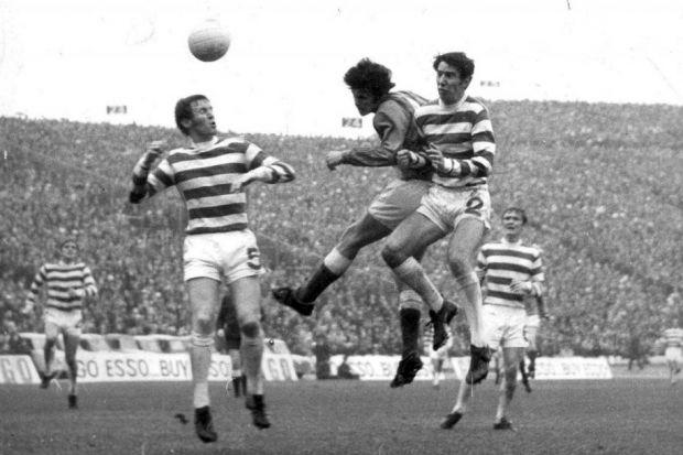 Derek Johnstone headed the winner against Celtic at Hampden as a 16-year-old back in 1970. #SportTimestop50