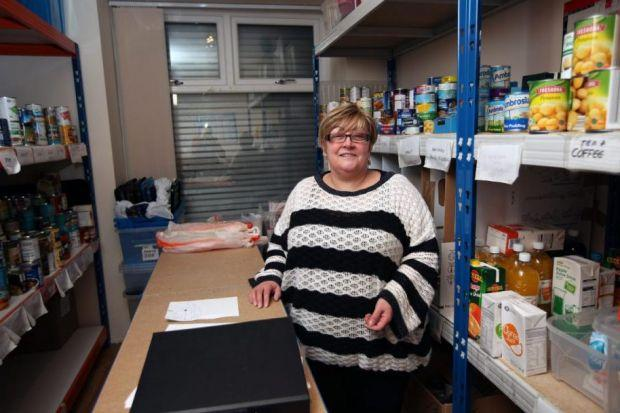 Foodbank organisers say they are busier than ever