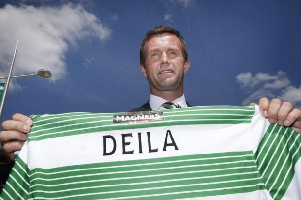 Blue sky thinking ... Celtic have gone for an unknown quantity in new boss Ronny Deila