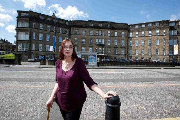 Susie Williamson went to the A&E unit at Victoria Infirmary       Picture: Martin Shields