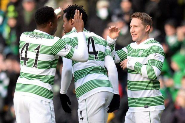 Darnell Fisher, above, is just one player Kris Commons, right, believes has a big future in the Celtic top team
