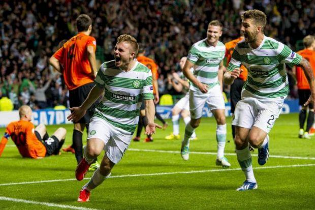 James Forrest scored the last-gasp goal which saw Celtic progress last season