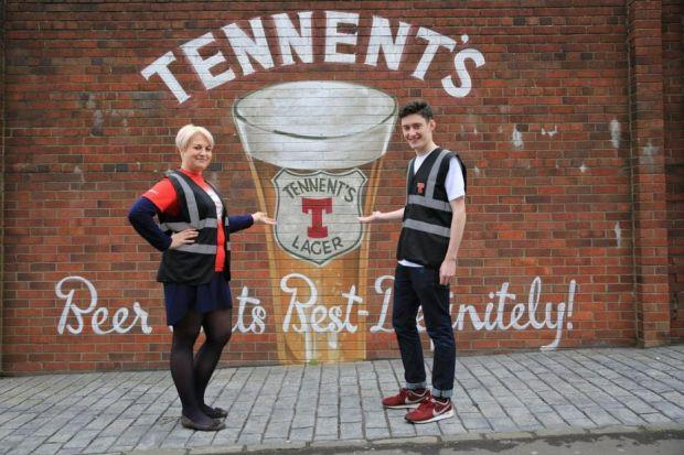 Tennent's Brewery has taken on more staff to show visitors round
